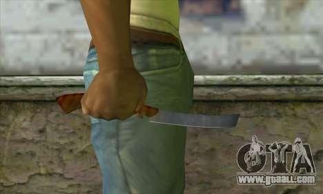 Razor for shaving for GTA San Andreas third screenshot