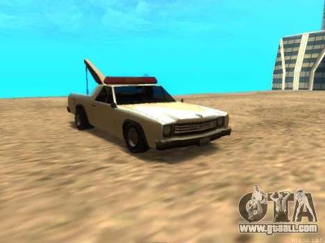 New Tow (Picador) for GTA San Andreas