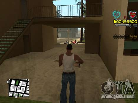 C-HUD Guns for GTA San Andreas eighth screenshot