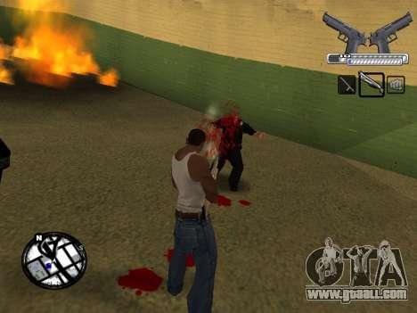 С-HUD by MoLoT for GTA San Andreas fifth screenshot