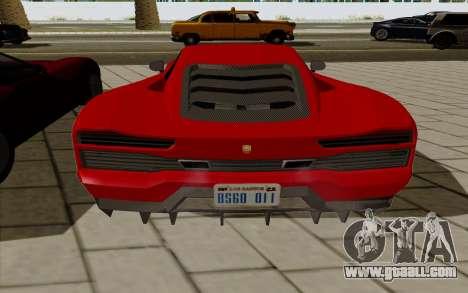 GTA 5 Pegassi Vacca for GTA San Andreas right view