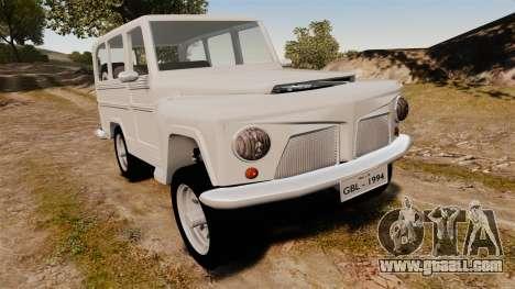 Rural Willys for GTA 4