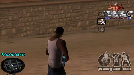 C-HUD 2PAC for GTA San Andreas second screenshot