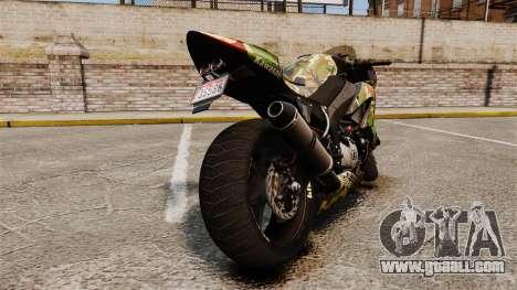 Kawasaki Ninja ZX-6R v2.0 for GTA 4 right view