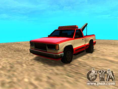New Tow (Yosemite) for GTA San Andreas left view