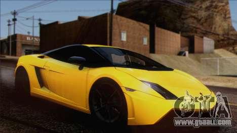 Lamborghini Gallardo LP570-4 Edizione Tecnica for GTA San Andreas inner view
