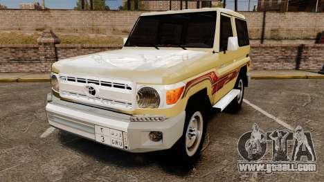 Toyota Land Cruiser 70 2014 for GTA 4
