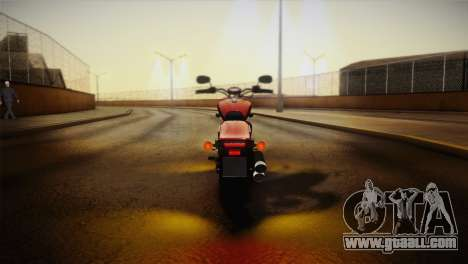 Yamaha Star Stryker 2012 for GTA San Andreas inner view