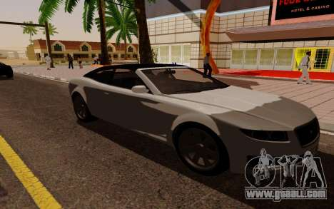 GTA 5 Lampadati Felon GT V1.0 for GTA San Andreas back left view