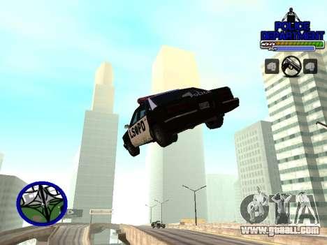 С-Hud Police Department for GTA San Andreas third screenshot
