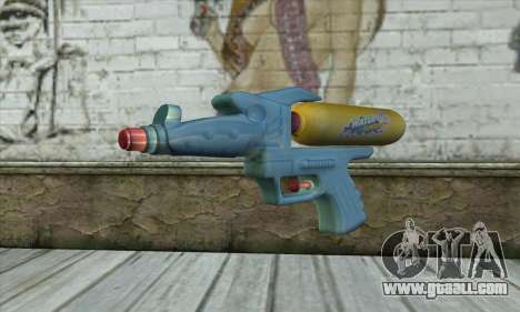 Water Gun for GTA San Andreas