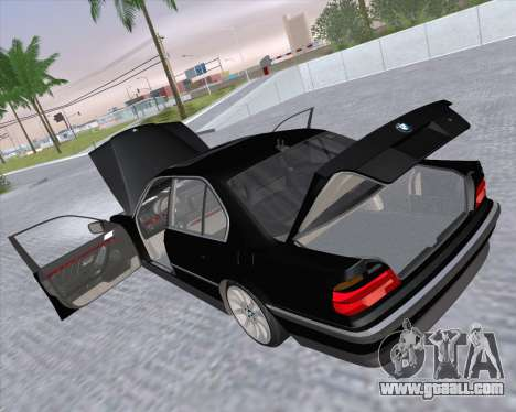 BMW 7-series E38 for GTA San Andreas side view