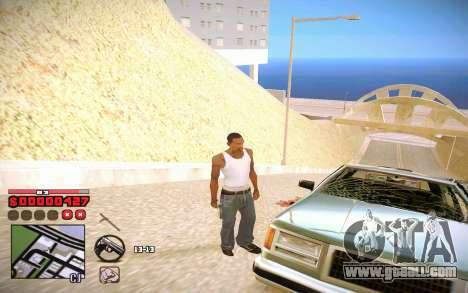 C-HUD by ComPot for GTA San Andreas third screenshot