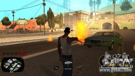 C-HUD Kings of Rap for GTA San Andreas sixth screenshot