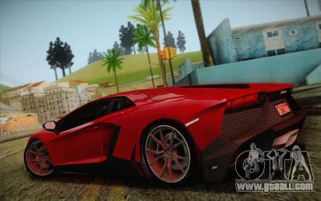 Lamborghini Aventador LP720-4 2013 for GTA San Andreas left view