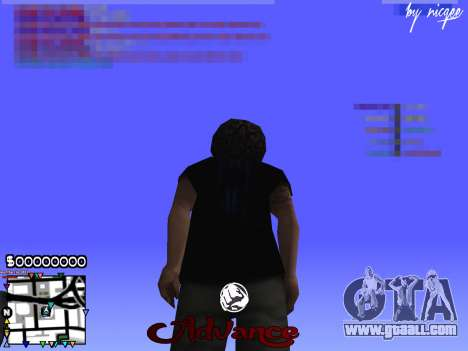 C-HUD Advance for GTA San Andreas third screenshot