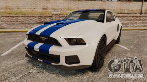 Ford Mustang GT 2013 NFS Edition for GTA 4