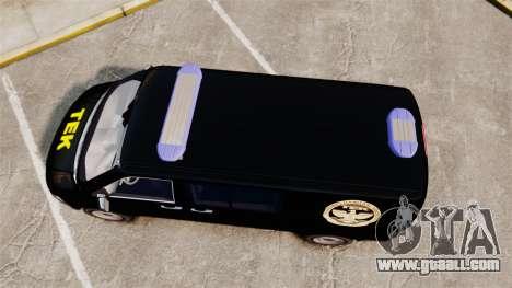 Volkswagen Transporter T5 Hungarian TEK [ELS] for GTA 4 right view
