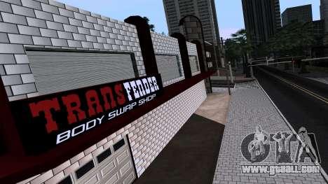 New TransFender for GTA San Andreas third screenshot