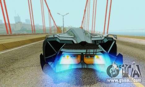 Lamborghini Egoista for GTA San Andreas engine