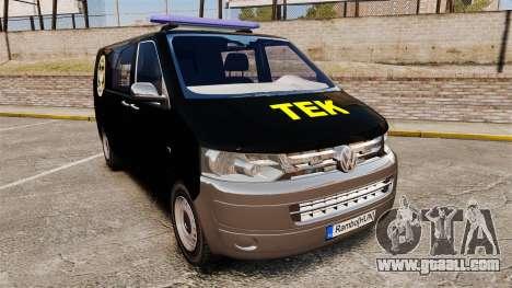 Volkswagen Transporter T5 Hungarian TEK [ELS] for GTA 4