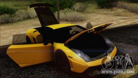 Lamborghini Gallardo LP570-4 Edizione Tecnica for GTA San Andreas interior