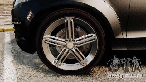 Audi Q7 TEK [ELS] for GTA 4 back view