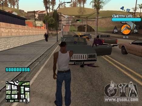 C-HUD new A.C.A.B for GTA San Andreas second screenshot