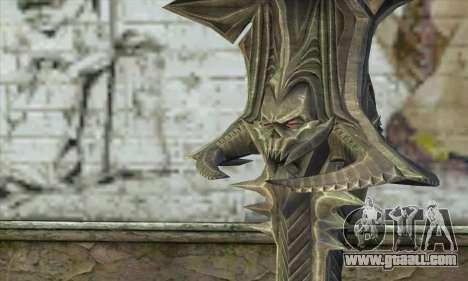 Daedric Sword for GTA San Andreas second screenshot
