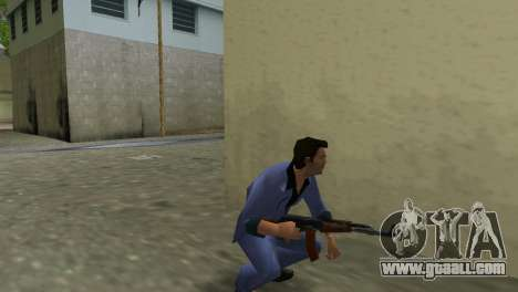 Kalashnikov Modernized for GTA Vice City fifth screenshot