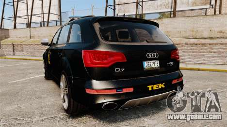 Audi Q7 TEK [ELS] for GTA 4 back left view