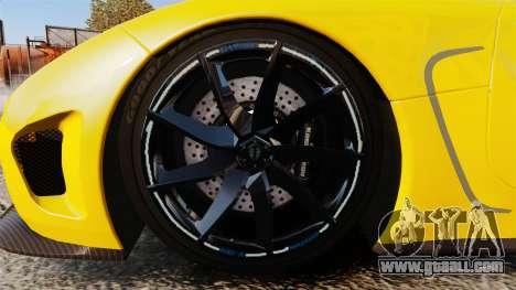 Koenigsegg Agera TE [EPM] for GTA 4 back view
