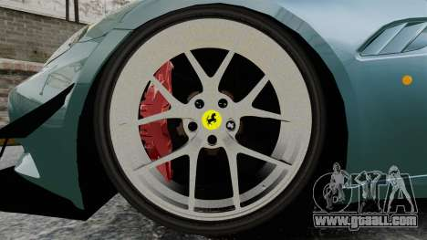 Ferrari California for GTA 4 back view