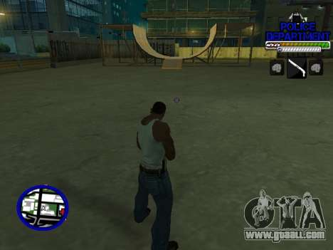 С-Hud Police Department for GTA San Andreas