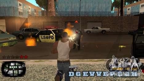 C-HUD Kings of Rap for GTA San Andreas second screenshot
