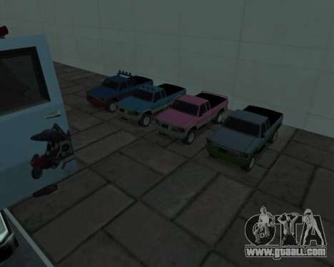 RC Pickup Off Road for GTA San Andreas left view