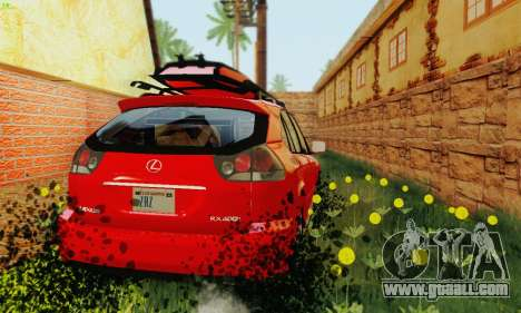 Lexus RX400h 2010 for GTA San Andreas side view