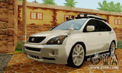Lexus RX400h 2010 for GTA San Andreas left view