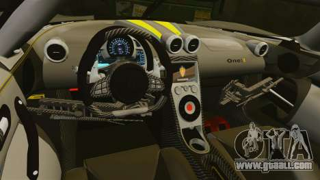 Koenigsegg One:1 [EPM] for GTA 4 side view