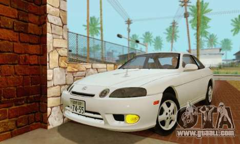 Lexus SC300 v1.01 [ImVehFT] for GTA San Andreas left view