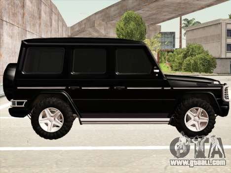Mercedes-Benz G500 for GTA San Andreas upper view