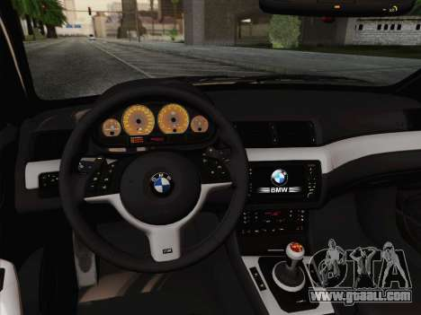 BMW M3 E46 2005 for GTA San Andreas side view