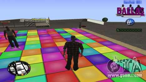 C-HUD Ballas Gang for GTA San Andreas second screenshot