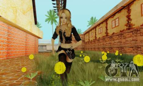 Babydoll Skin for GTA San Andreas third screenshot