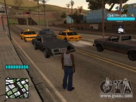 C-HUD new A.C.A.B for GTA San Andreas
