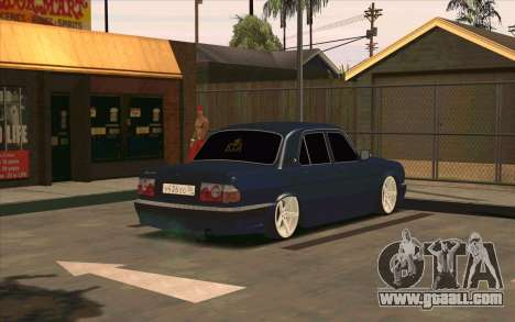 GAZ 31105 for GTA San Andreas side view