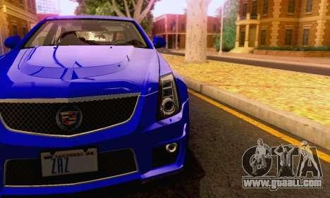 Cadillac CTS-V Sedan 2009-2014 for GTA San Andreas interior