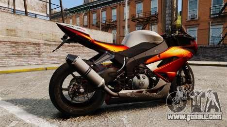 Kawasaki Ninja ZX-6R v2.0 for GTA 4 left view