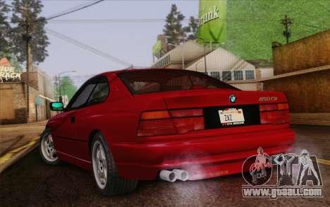 BMW 850CSi E31 1996 for GTA San Andreas left view
