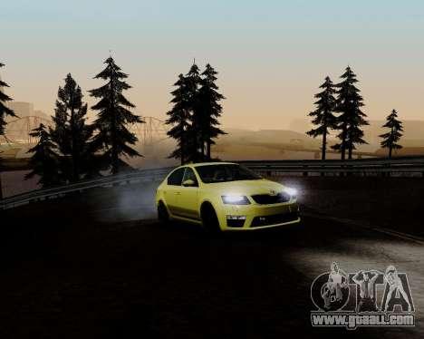 Skoda Octavia A7 RS for GTA San Andreas